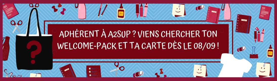 Welcome Pack et carte d'adhérent